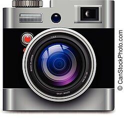 ikon, fényképezőgép, fénykép