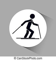 ikon, folk, sport, design