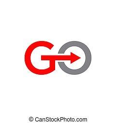 ikon, jár, jel, szöveg, gyorsaság, sablon, tervezés