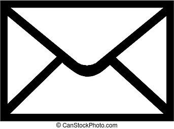 ikon, kuvert