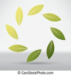 ikon, levél növényen