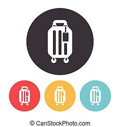 ikon, poggyász