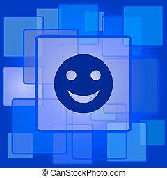 ikon, smiley