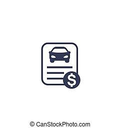 ikon, vogn udlånt