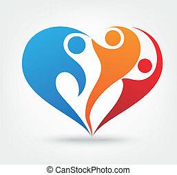 ikona, miłość, rodzina