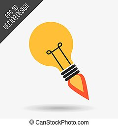 ikona, uruchomienie, projektować