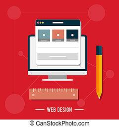 ikone, für, netz- design, seo, sozial, medien