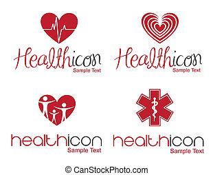 ikone, gesundheit