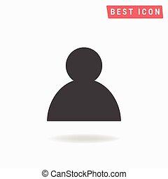 ikone, ikone, eps, benutzer