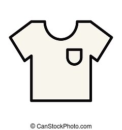 ikone, tshirt, design, vektor, freigestellt