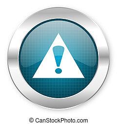 ikone, warnung