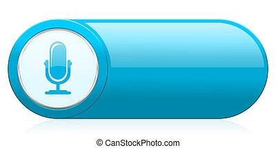 ikone, zeichen, podcast, mikrophon