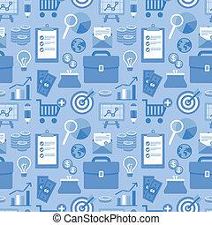 ikonen, mönster, affär, seamless, vektor, lägenhet