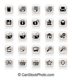 ikoner internet