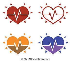 ikonok, emberi szív