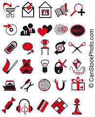 ikonok, helyett, mi