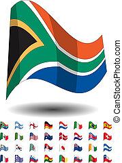 ikonok, országok, zászlók