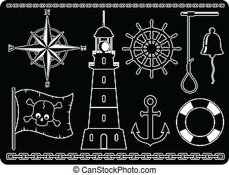 ikonok, tengeri