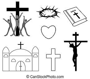 ikonok, vallásos