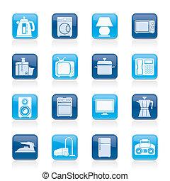 ikony, dom, wyposażenie