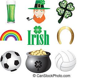 ikony, irlandia