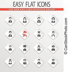 ikony, komplet, okupacja