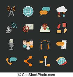 ikony, komunikacja