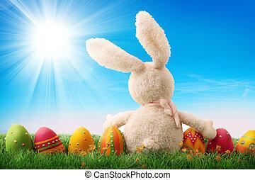 ikra, húsvét, színes
