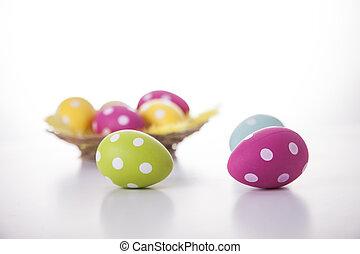 ikra, húsvét, white háttér