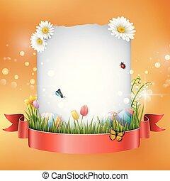 ikra, tiszta, húsvét, aláír