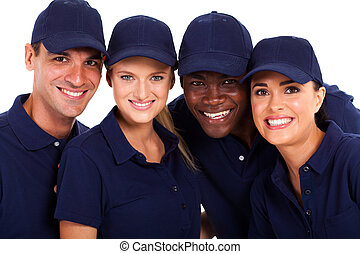 il, équipe, groupe, service