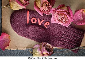 il, composizione, di, giorno valentine