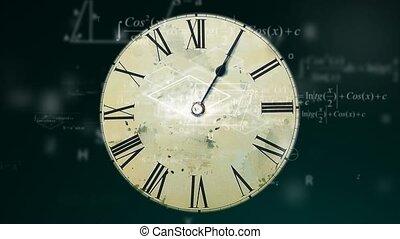 il, concetto, di, tempo, matematica, fisica