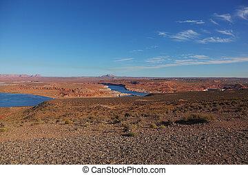 il, condotti, di, canyon antilope