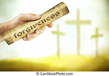 il, messaggio, di, perdono, da, il, croce