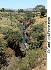 il, nilo blu, in, etiopia