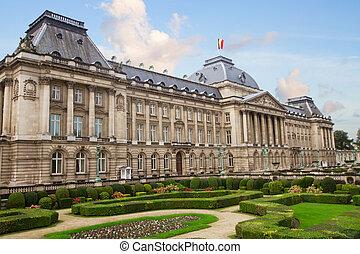 il, palazzo reale, di, bruxelles