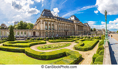 il, palazzo reale, in, bruxelles
