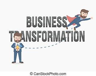 il, potere, affari, trasformazione