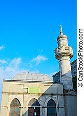 il, storico, centro, di, istanbul.