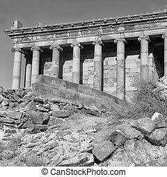 il, tempio, di, garni, è, ellenistico, tempio, in, garni, armenia.