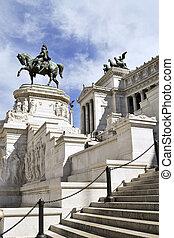 Il Vittoriano in Piazza Venezia, Ro