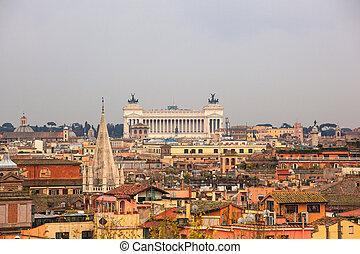 Il Vittoriano, Rome