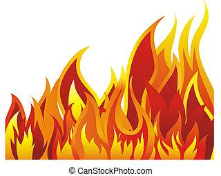 ild, baggrund