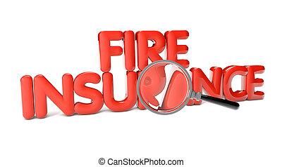 ild, forsikring