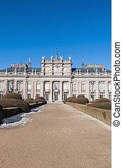 ildefonso, królewski,  San, pałac, Hiszpania