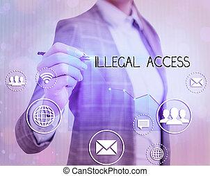 ilegal, foto, texto, sin, actuación, consentimiento, user.,...