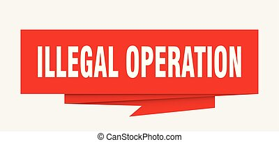ilegal, operação