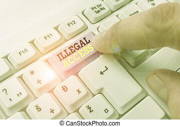 ilegal, showcasing, escritura, foto, sin, consentimiento,...