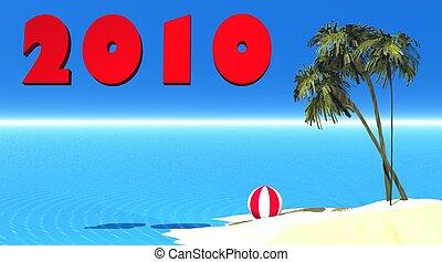 ilha, 2010, ano novo